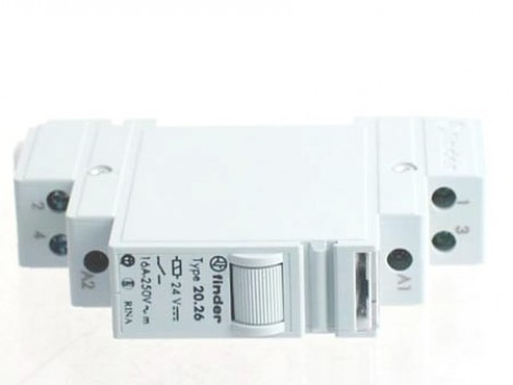 INDUSTRIAL RELAY 24 V DC 20-26-9-024
