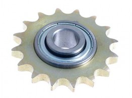 CHAIN TENSIONER WITH BEARING