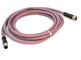 CABLE  3M CANOPEN M12 MALE/FEM.