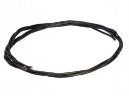 CABLED WIRE TWIST. 3X4 BLACK N07V-K